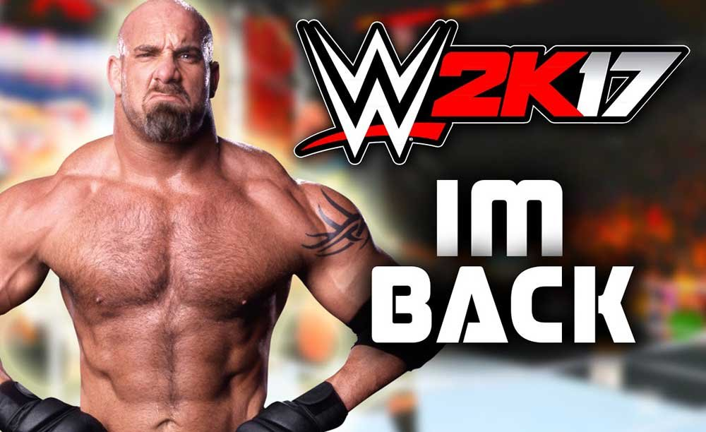 WWE 2K17: Wrestler Bill Goldberg auf der Gamescom 2016