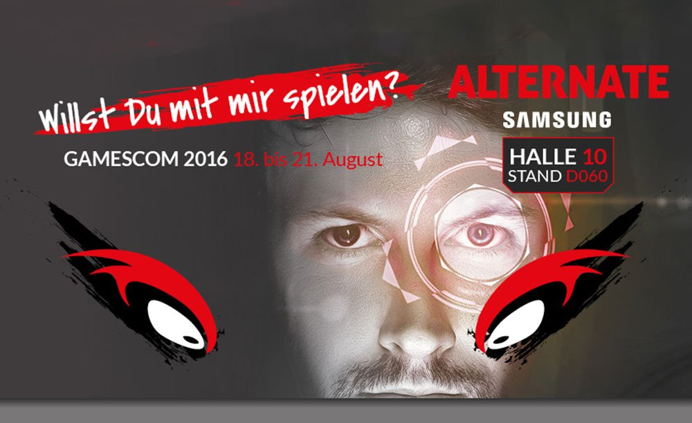 ALTERNATE aTTaX Turniere live auf der Gamescom 2016