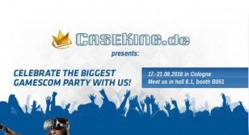 CaseKing auf der gamescom 2016