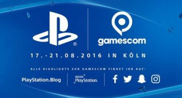 Sony PlayStation Line-Up für die gamescom 2016