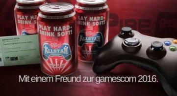 Gewinne 2 x 3 Tageskarten für die gamescom 2016 mit Dr. Pepper und GamePire