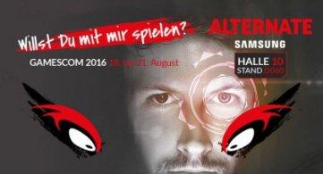 ALTERNATE aTTaX Turniere live auf der Gamescom 2016